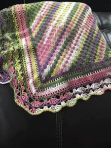 Mountain Heather Lap Blanket